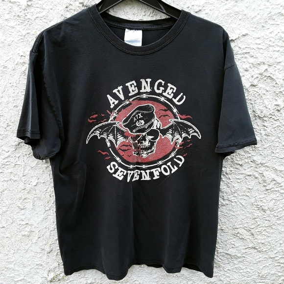 9fee38f7d Avenged Sevenfold Vintage Bandtee Shirt Large
